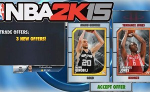 NBA 2K15 MyTeam, VC bonus not working