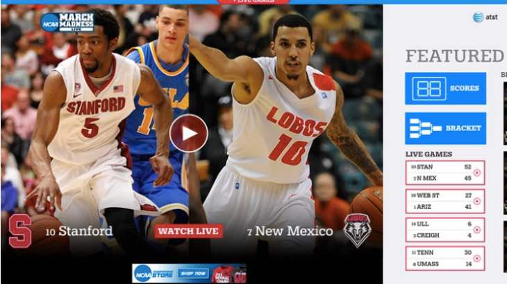 NCAA March Madness 2015 app for Windows Phone 8.1