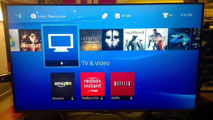 netflix-ps4-on-tv