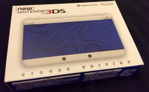 New Nintendo 3DS Kyogre Edition unboxed