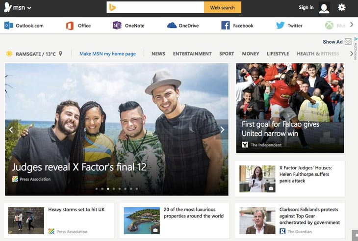 new-MSN-with-social-sign-in