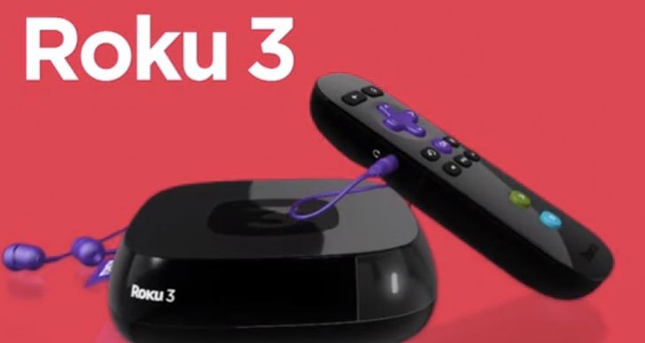New Roku 2, 3 and LT Streaming Player visuals