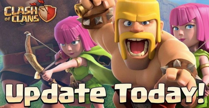 Clash of Clans update notes for September 17
