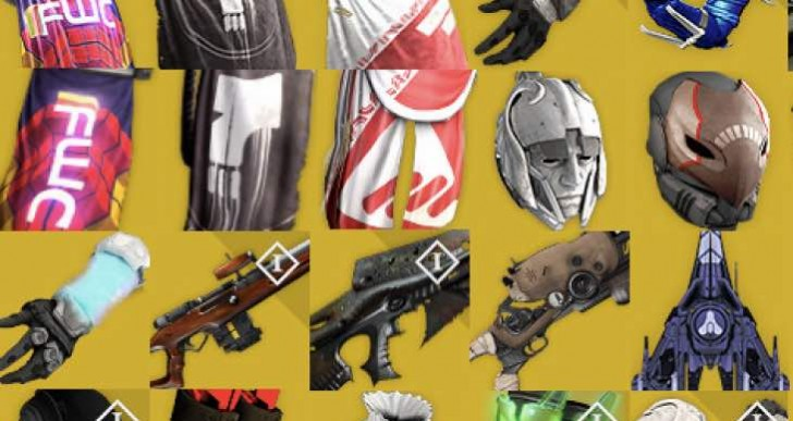 New Destiny DLC Exotic Weapons list with stats