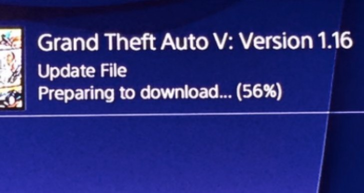 GTA V 1.16 update notes link for PS4, Xbox One