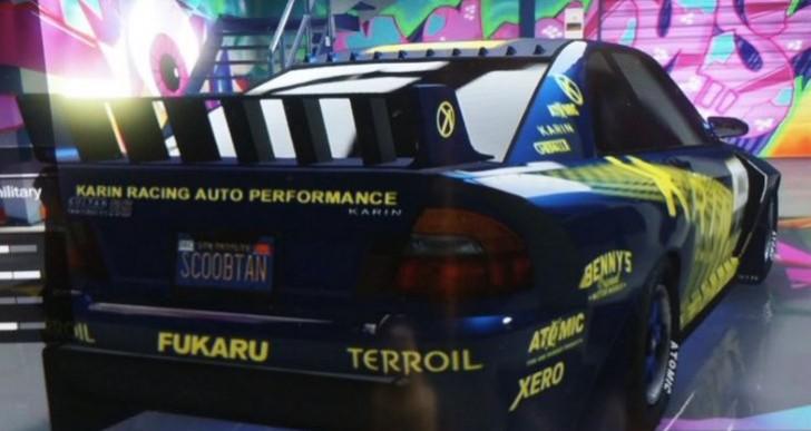 New GTA 5 Karin Sultan, Bravado Banshee customized on 1.16