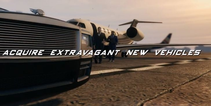 GTA 5 Further Adventures in Finance and Felony cars