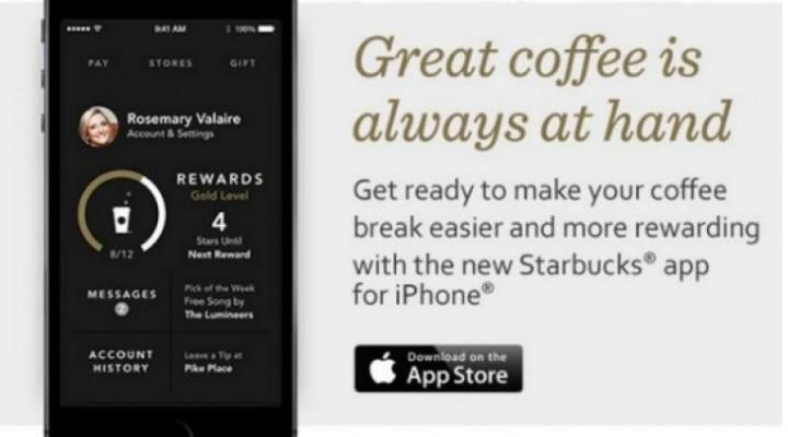 New Starbucks app iPhone joy, Android anger
