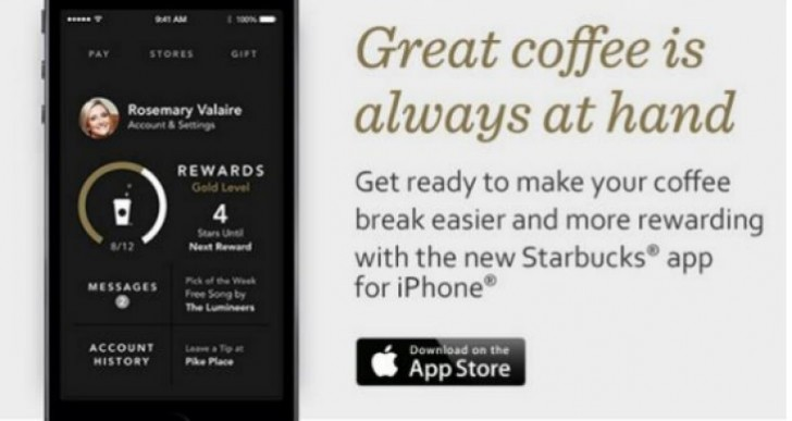 New Starbucks app iPhone joy, Android anger