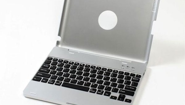 Tiny MacBook Pro created from iPad case for 2012