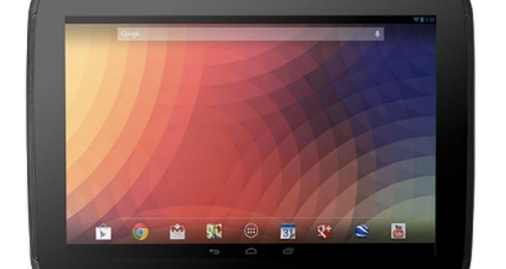 Nexus 10 countdown after stock hint