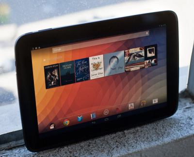 the Nexus 10 love affair goes on..