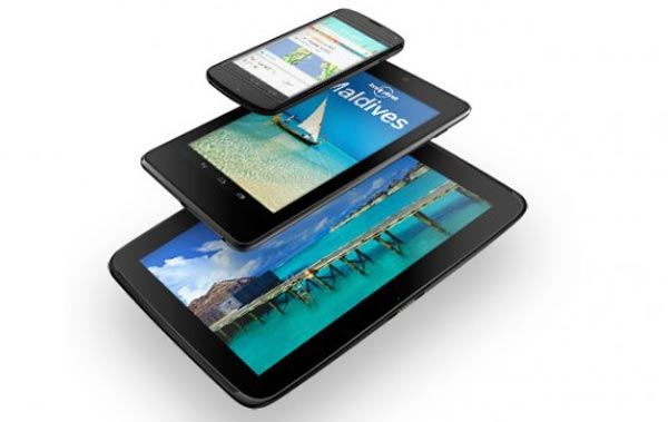 Nexus 10, 4, and 7 freebies vary by country