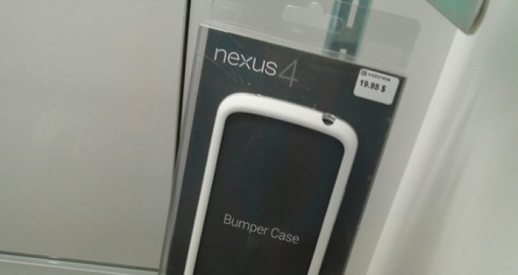 White Nexus 4 bumper visual teases US release