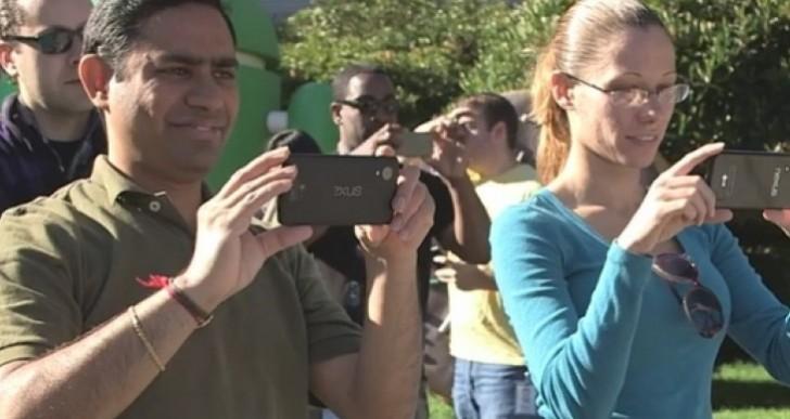 Nexus 5 phone seen in 2013 commercial