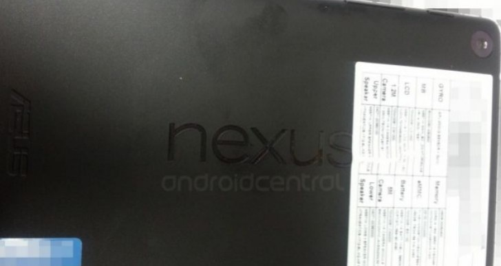 Nexus 7 2 specs with rear camera, speakers