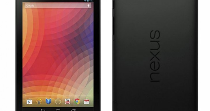 Nexus 7 2013 model revealed on Twitter