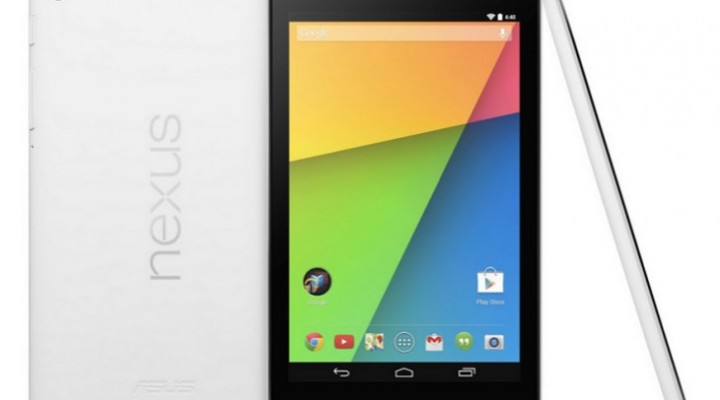 Nexus 7 2013 White unleashed, but 32GB only