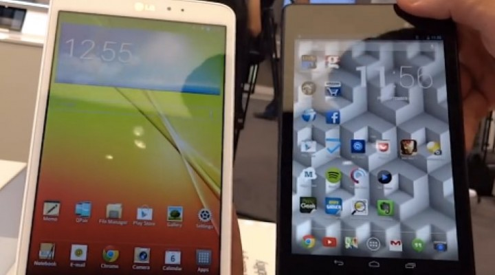 Nexus 7 2013 Vs LG G Pad 8.3 quick review