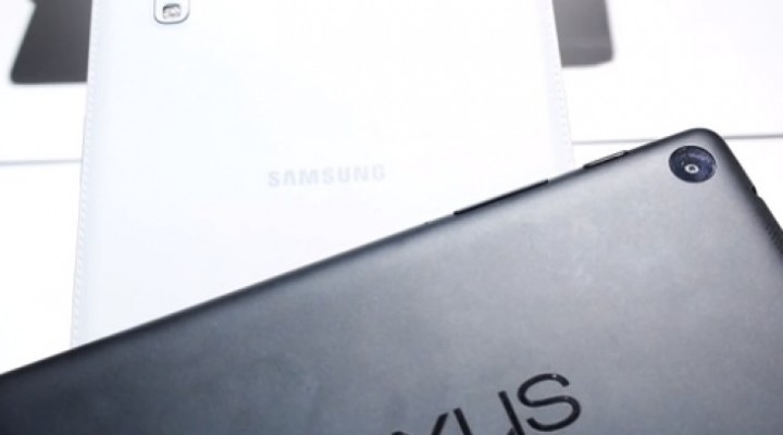 Galaxy Tab Pro 8.4 Vs Nexus 7 2013 in quick review