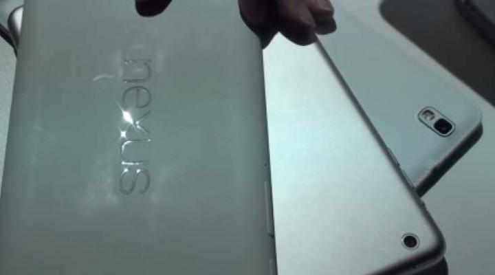 iPad Mini 2 Vs Nexus 7, Galaxy Tab Pro 8.4 size analysis