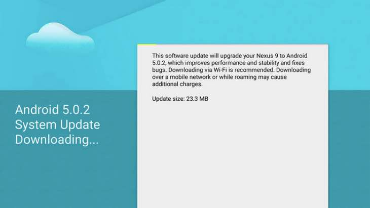 nexus-9-android.5-1-update-missing
