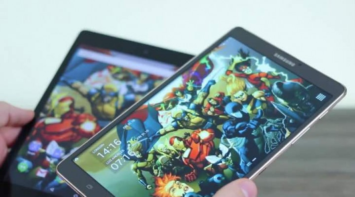 Samsung Galaxy Tab S 8.4 vs Nexus 9 review in 12 minutes