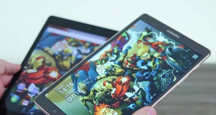 Samsung Galaxy Tab S 8.4 vs Nexus 9 review in 12 minutes