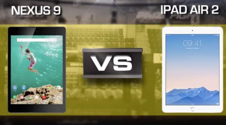Nexus 9 Vs iPad Air 2 review picks Apple as winner