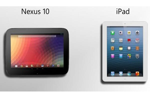 Nexus 10 price surpasses iPad 4