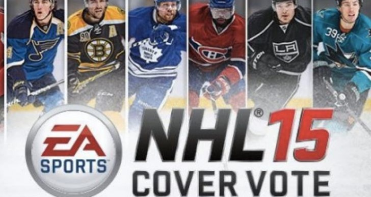 NHL 15 cover vote and trailer