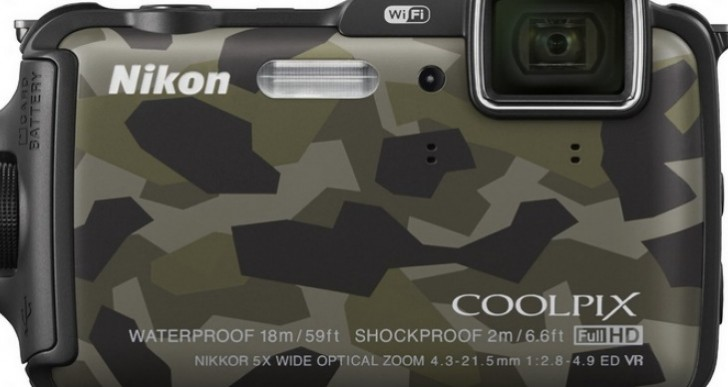 Nikon Coolpix AW120 camera for hardcore use