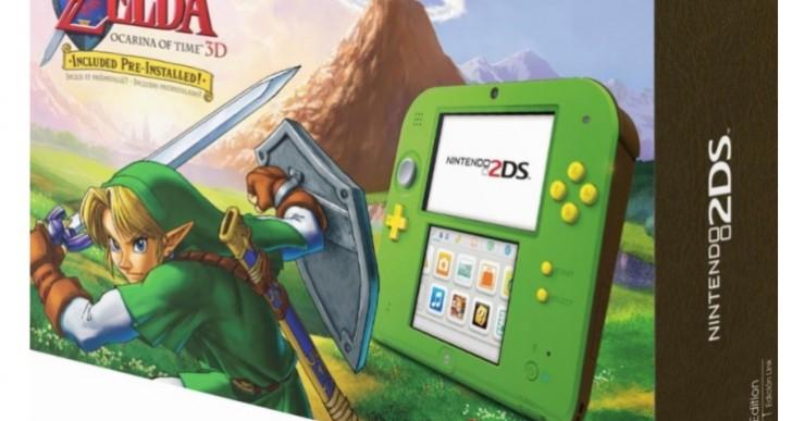 Nintendo 2DS Link Green stock at Best Buy Vs Walmart