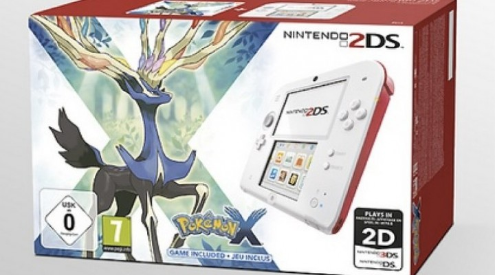 Pokemon X and Y UK spotlight with 2DS bundle