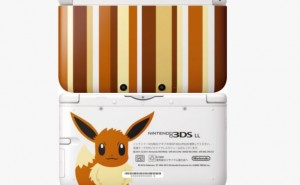 Pokemon X and Y rarity with Eevee 3DS