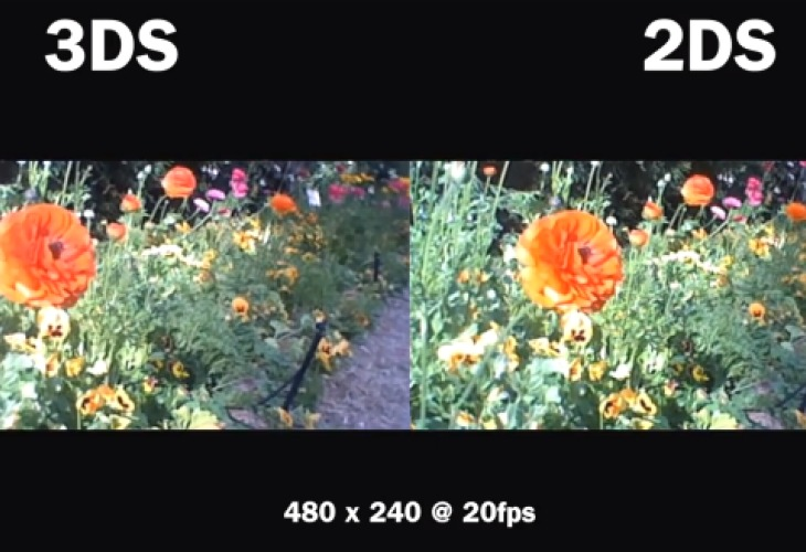 Nintendo 2DS vs. 3DS camera shoot-out