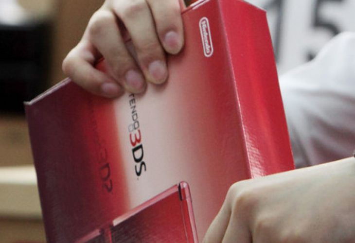 Nintendo 3DS sales superiority vs Xbox 360, PS3 in UK