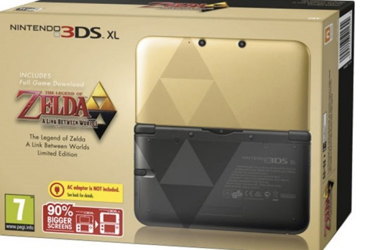 Nintendo 3DS XL popularity with Zelda A Link Between Worlds
