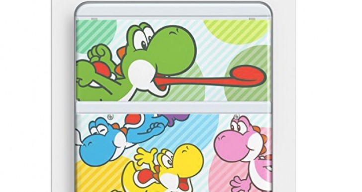 New Nintendo 3DS Yoshi Cover Plate stock at Amazon