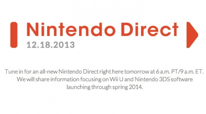 Wii U games in 2014 preview with Nintendo