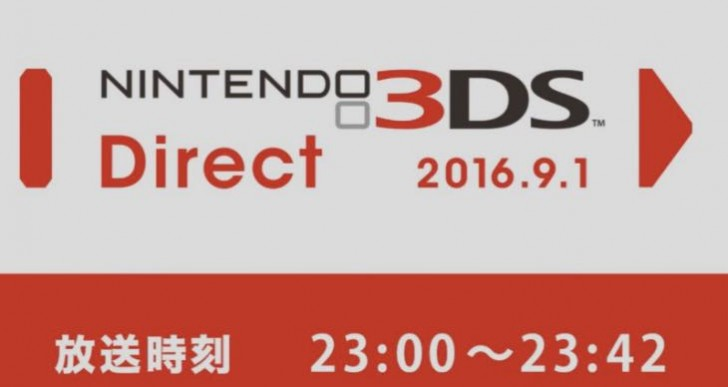 Nintendo 3DS Direct 01.09.2016 stream replay