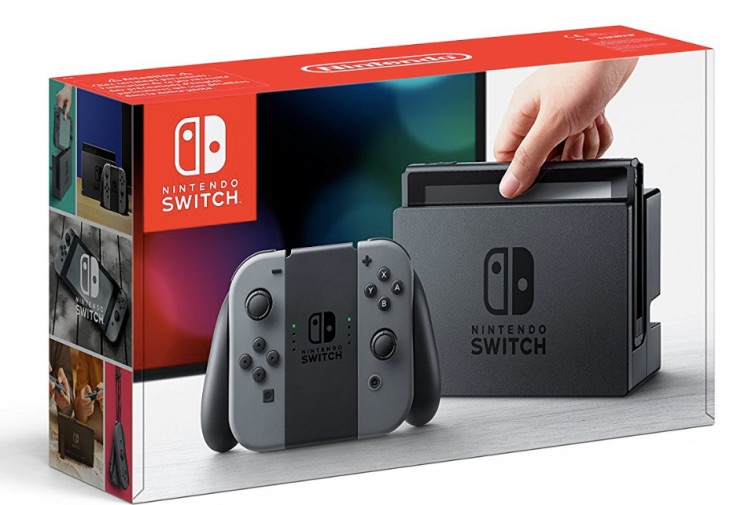 Nintendo Switch UK Price cut at Amazon for Christmas