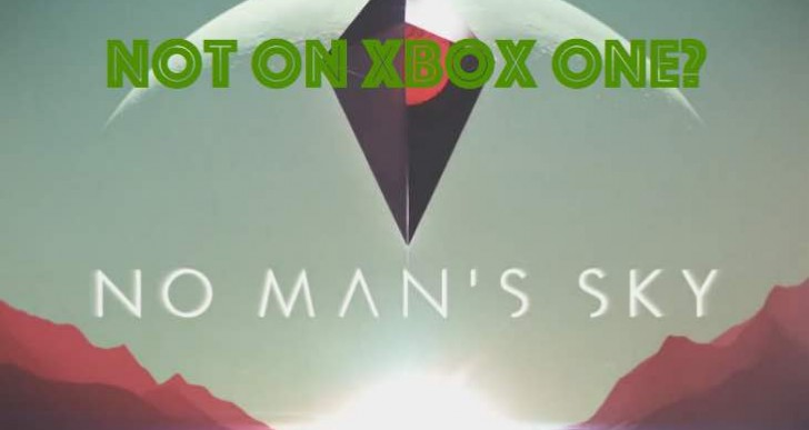 No Man's Sky Xbox One release date sadness