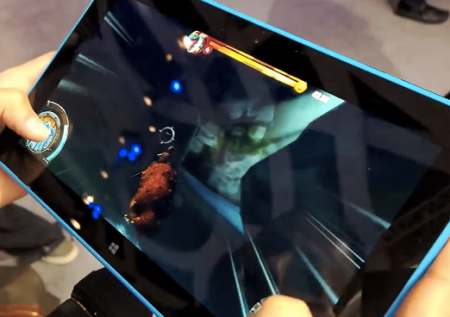 Are you impressed with gaming on the Lumia 2520?