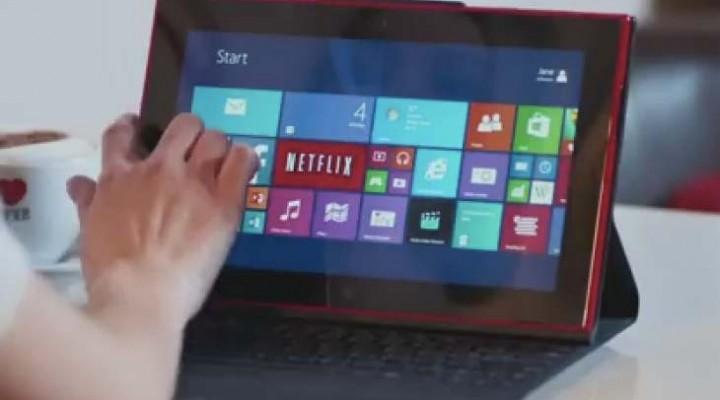 Nokia Lumia 2520 Vs iPad Air Ad mocks battery life
