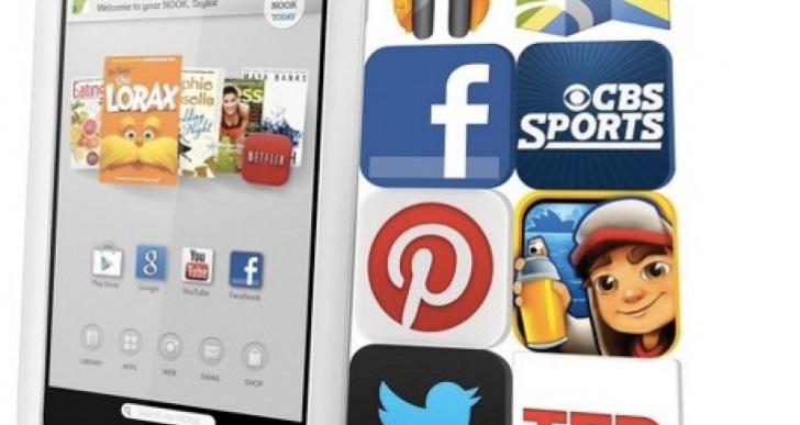 Nook 7″ 8GB HD Tablet vs Nexus 7 specs showdown