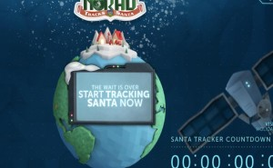 Track Santa with Norad Vs Google start time