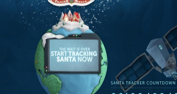 Norad Santa Tracker not working, down for thousands of kids