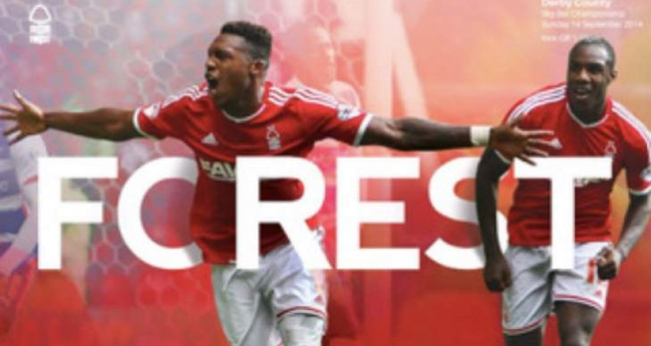 Nottingham Forest matchday programme live on iPad, iPhone