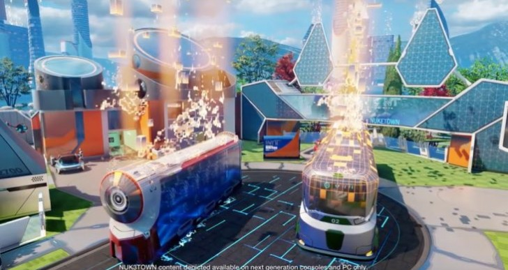 First Black Ops 3 Nuketown gameplay for pre-orders